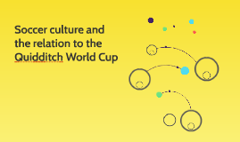 Soccer culture and the relation to the Quidditch World Cup