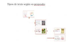 Copy of Tipos de texto según su proposito