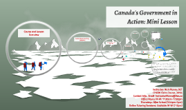 Copy of Canada's Government in Action: Mini Lesson