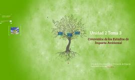 Estudios  de Impacto Ambiental EsIA