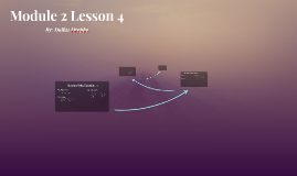 Module 2 Lesson 4