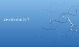 Genetics Quiz ZAP!