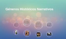 Géneros Históricos Narrativos