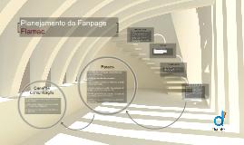 Planejamento da Fanpage  Flamac