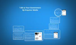 Talk to Your Government