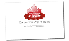 W2P Connection Map of Invites