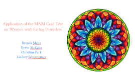 Application of the MARI Card Test  on Women with Eating Disorders