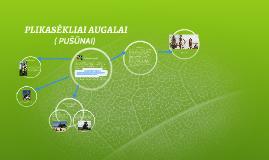 Copy of PLIKASĖKLIAI AUGALAI