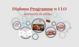 Copy of Diploma Programme w I LO