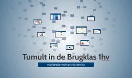 10-3-2015 VCL Tumult in de Brugklas