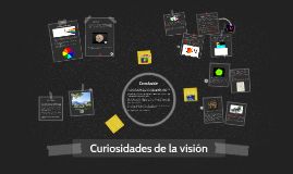 Curiosidades de la visión