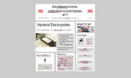Enjeux psychosociaux du numérique : reconfiguration du travail et récit d'expériences