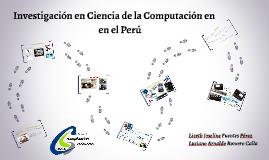 Investigación en Ciencia de la Computación en el Perú
