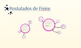 Postulados de Freire