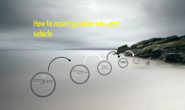 how to insert gasoline into a vehicle