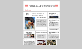 Forces And Dimentions