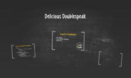 Delicious Doublespeak