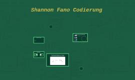 Shannon Fano Codierung