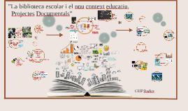 Projectes documentals CEIP Badies