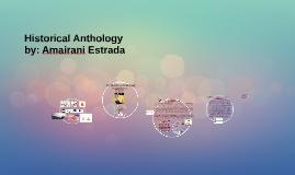 Historical Anthology