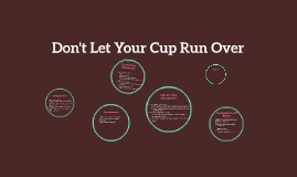 Copy of Don't Let Your Cup Run Over