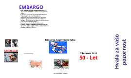 Embargo - Kuba