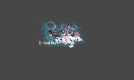 Copy of E-mail Ban