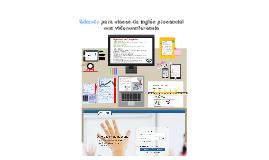 Edmodo para clases de inglés con videoconferencia