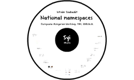 National namespaces