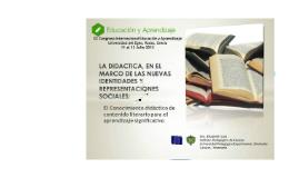 Copy of DIDACTICA DE LA LITERATURA, EN EL MARCO DE LAS NUEVAS IDENTIDADES Y REPRESENTACIONES SOCIALES