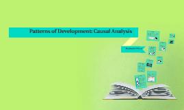 Patterns of Development: Causal Analysis