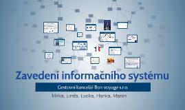 Zavedení informačního systému
