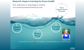 Impact Investing for Ocean Health