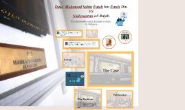 Copy of Dato' Mohamad Salim Fateh bin Fateh Din v Nadeswaran a/l Raj