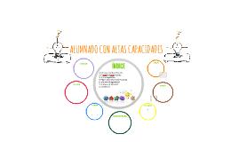 ALUMNADO CON ALTAS CAPACIDADES