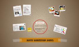 Math Workshop Model