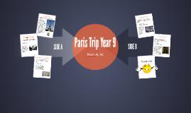 Paris Trip Year 9