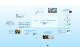 UNICEF Social Protection Work – An Overview
