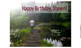 Happy Birthday Steven!