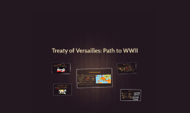 Treaty of Versailles: Path to WWII