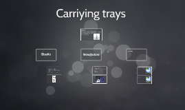 Carriying trays