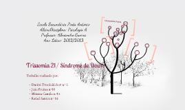Copy of Trabalho de Psicologia A (Trissomia 21)