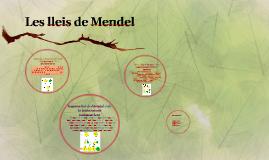 Lleis de Mendel