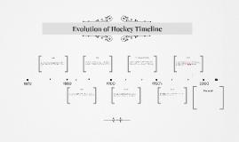 Evolution of Hockey Timeline
