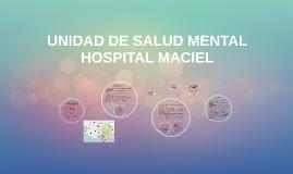 UNIDAD DE SALUD MENTAL