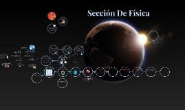 Sección De Física