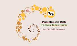 Presentasi Job Desk