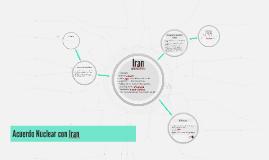 Acuerdo Nuclear con Iran
