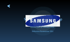 Samsung HTV Workshop