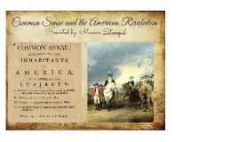 Common Sense and the American Revolution